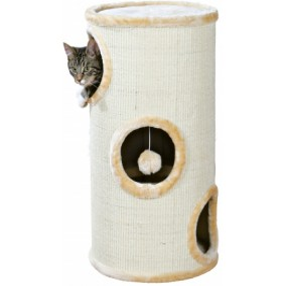 Cat Tower Samuel with sisal, beige 70cm