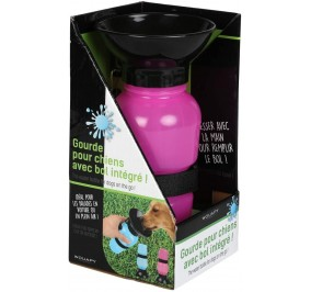 Water bottle for Dog, Bowl Blue Wouapy