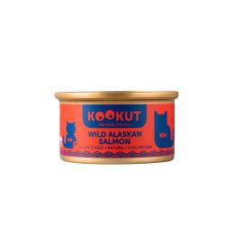 Kookut Cat Saumon d'Alaska 70gr