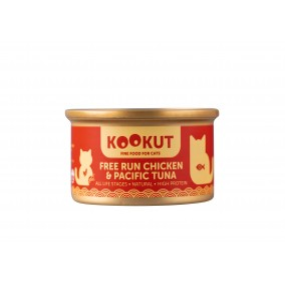 Kookut Cat Chicken & Pacific Tuna 70 g