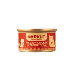 Kookut Cat Poulet & Thon du Pacifique 70gr