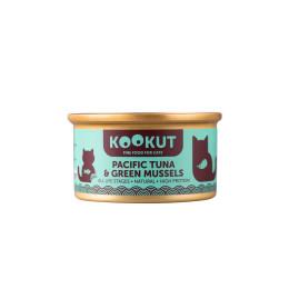 Kookut Cat Tuna Pacific & Green-lipped Mussel 70 g