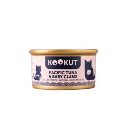 Kookut Cat Thon Pacifique & Palourdes 70gr