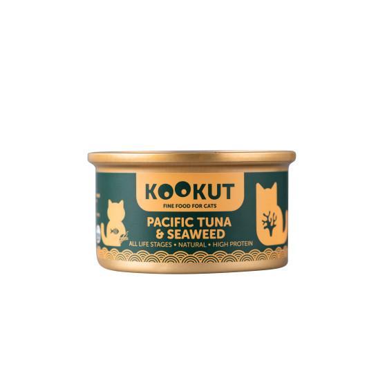 Kookut Cat Thon Pacifique & Algues 70gr