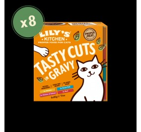 Lily''s Kitchen Cat Box Sauce Multipack 8x85gr