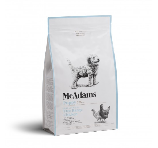 Mc Adams Puppy Small Breed Poulet 2kg