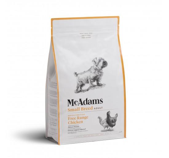 Mc Adams Adult Small Breed Chicken 2kg