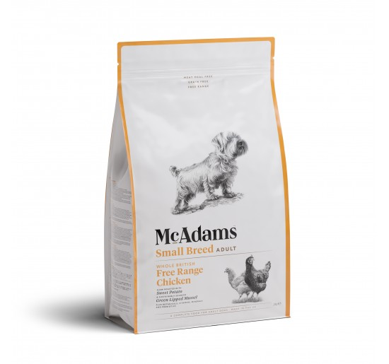 Mc Adams Adult Small Breed Poulet 2kg