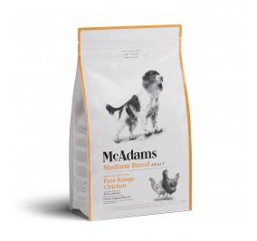 Mc Adams Adult Medium Breed Poulet 2kg