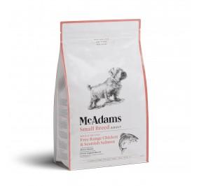 Mc Adams Adult Small Breed Chicken Salmon 2kg
