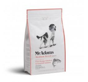 Mc Adams Adult Medium Breed Chicken Salmon 2kg
