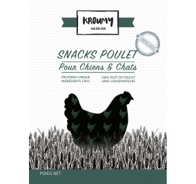 Kroumy Snack Poulet 50gr