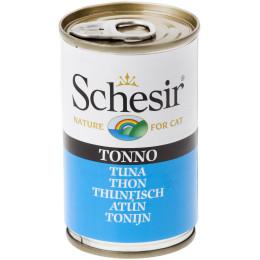 "Schesir Cat Box 24x140g ""Jelly"" Tuna"