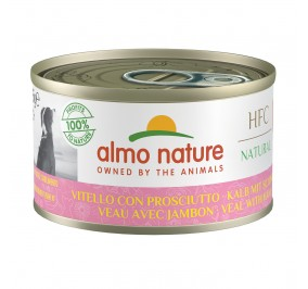 Almo Nature dog, 95g Veal and Ham