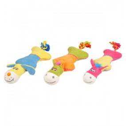Flamingo Bird Dog Toy 48cm