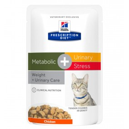 Prescription Diet™ c/d™ Feline Urinary Stress + Metabolic 4x12x85gr