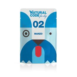 Natural Code DOG sachet N°2 Beef 100gr