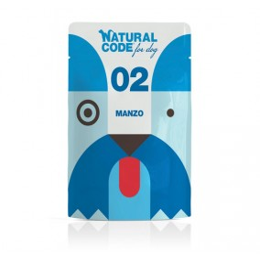 Natural Code DOG sachet N°2 Boeuf 100gr