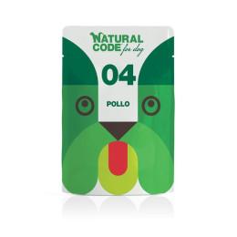Natural Code DOG sachet N°4 Poulet 100gr