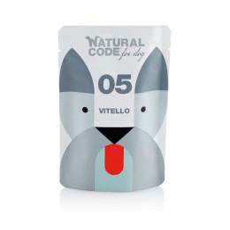Natural Code DOG bag N°5 Veal 100gr