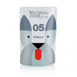 Natural Code DOG sachet N°5 Veau 100gr