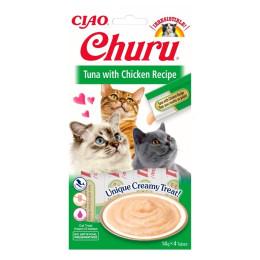 Inaba Churu Tuna & Chicken 4x14gr