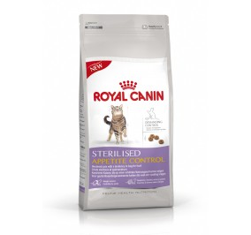 Aliment pour chat Royal Canin Sterilised Appetite control 2kg