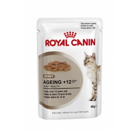 Food for cats older in sachet, 85gr Royal Canin Ageing +12