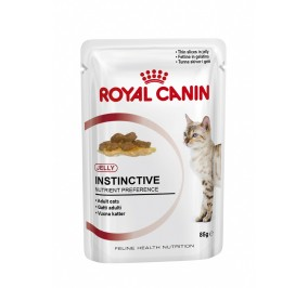 Royal Canin chat humide Instinctive En Gel_e sachet 85g