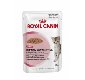 Royal Canin chat humide Kitten instinctive sachet 85g