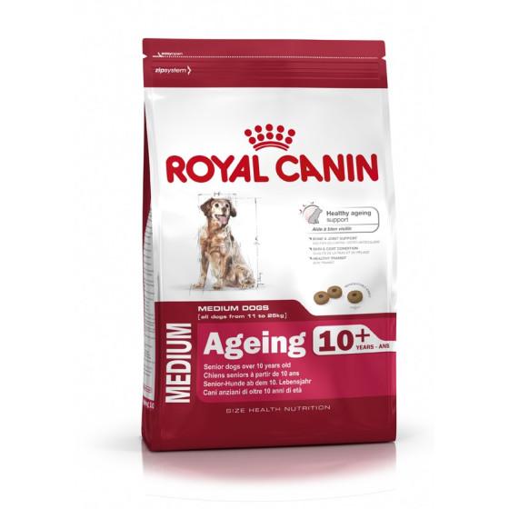 Royal Canin dog SIZE N medium Ageing 10+