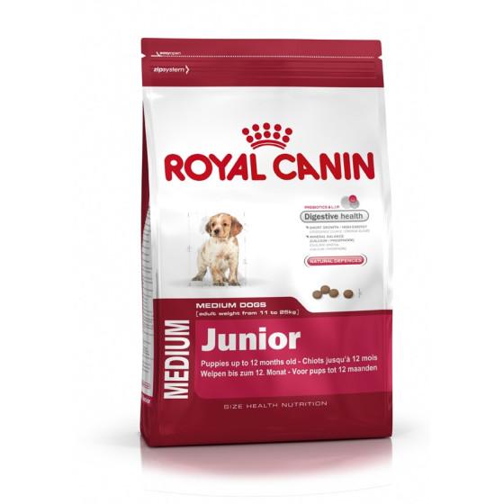 Royal Canin dog SIZE N medium junior 15kg