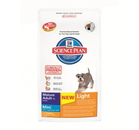 Hill's canine Senior Light Mini 2.5kg