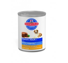 Hill's canine senior cans 12x370gr
