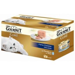 Nourriture pour chat Gourmet Gold mousse au Thon 4x85g