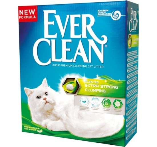 Litter Everclean Extra Strong Clumping (FG) 6L (New Formula)