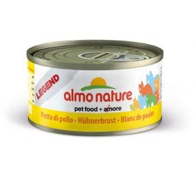 Boite pour chat Almo Blanc de poulet 70gr