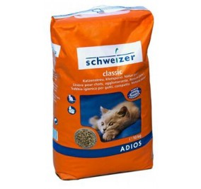 Litter for cats Adios 10 KG ( ADI )