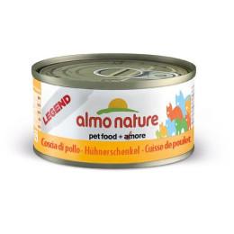 Boite Almo, nourriture pour chat, cuisse de poulet 70gr