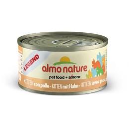 Nourriture Almo pour chaton en boite de 70gr