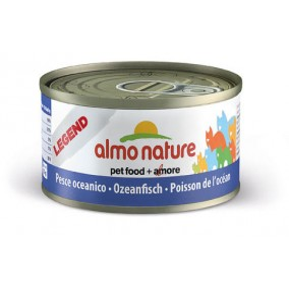 Nourriture pour chat boite Almo 70gr au poisson de l'ocean